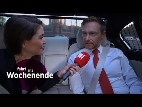 Mit Christian Lindner im BMW - FDP darf nicht umfallen / Fahrt ins Wochenende 06