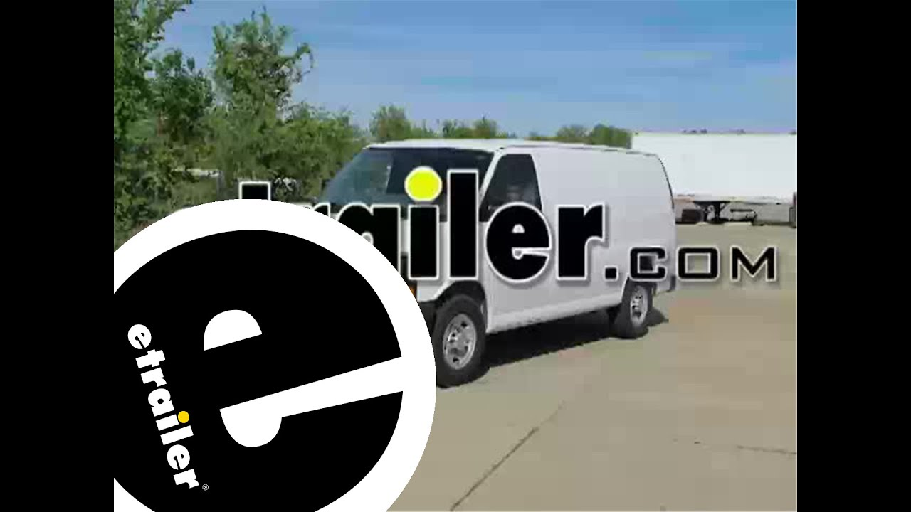 hight resolution of trailer wiring harness installation 2010 chevrolet express van etrailer com