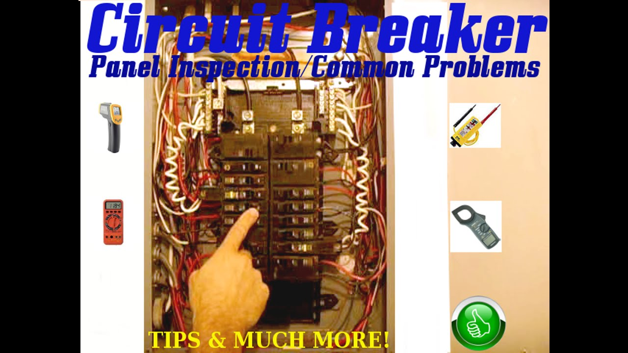 Circuit Breaker Panel Inspection Common Problems Youtube Residential Wiring Premium