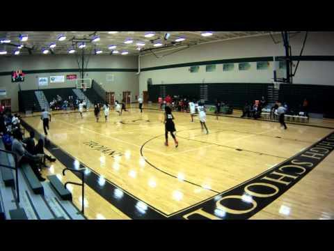 Edgewater High School Varsity Girls Basketball vs Evans High School on 12/2015