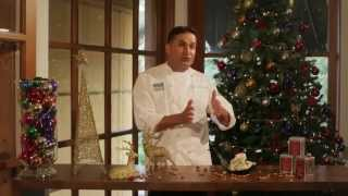 Dilmah Italian Almond Vanilla Crescents - Recipe By Peter Kuruvita