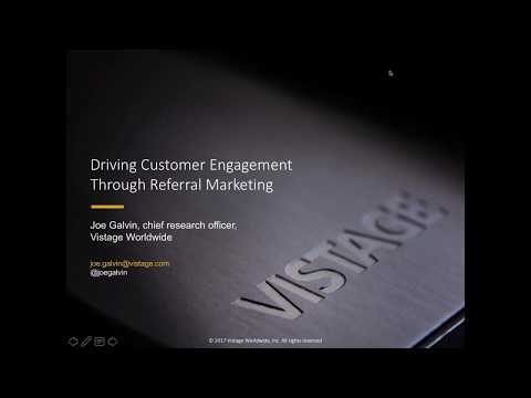 Driving Customer Engagement Through Referral Marketing