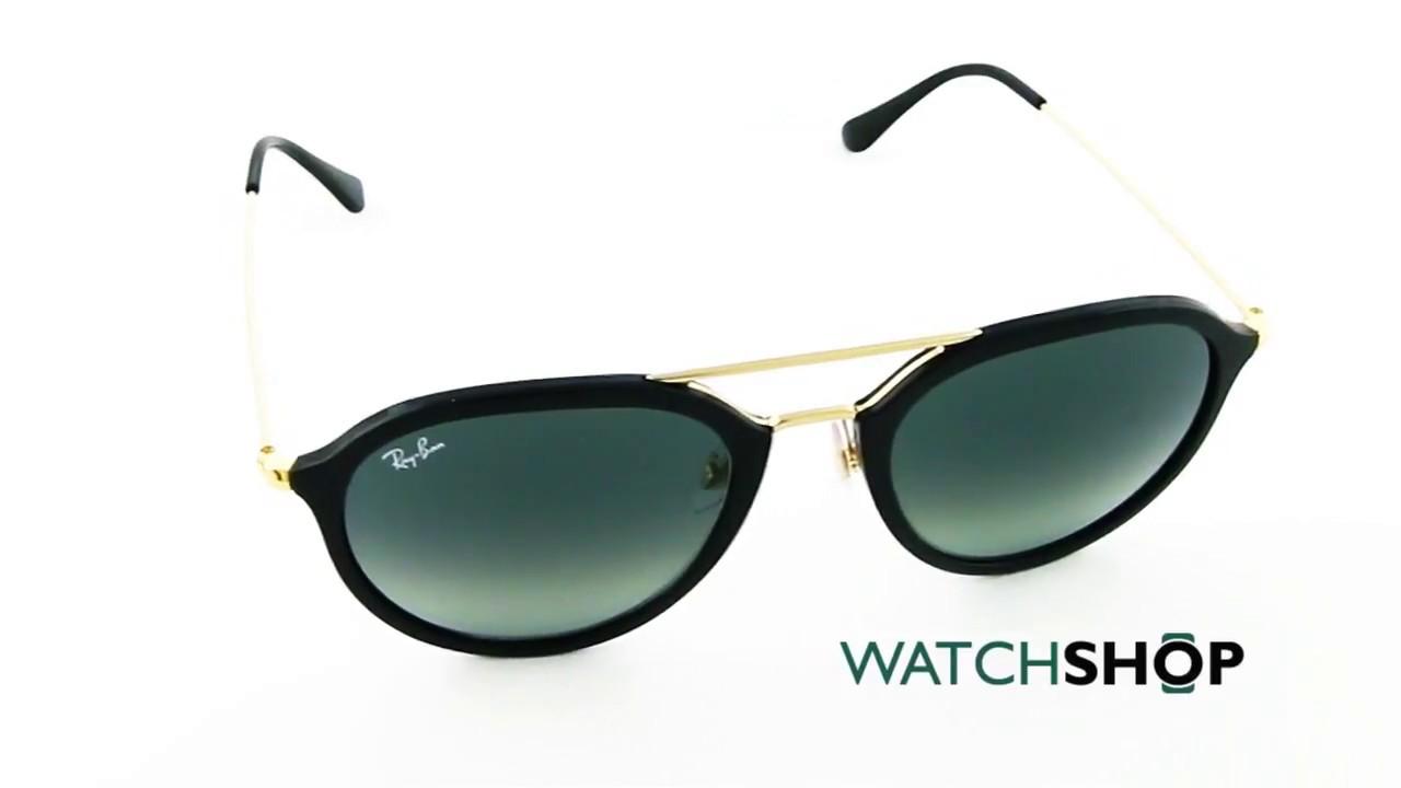 a68522ea36 Ray-Ban RB4253 Sunglasses (RB4253-601 71-53) - YouTube