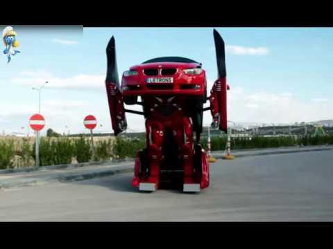 une voiture bmw se transforme en robot youtube. Black Bedroom Furniture Sets. Home Design Ideas