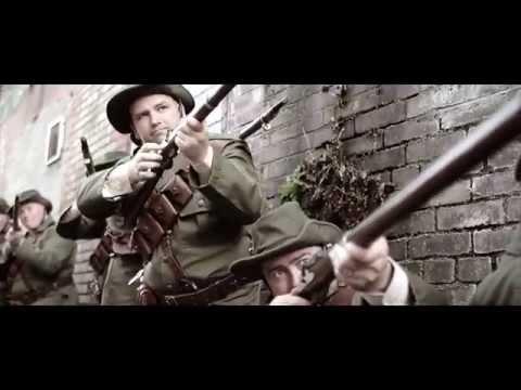 Dramatic scenes in Dublin as Irish rebels attempt to break through British lines
