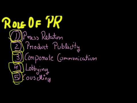 Marketing Mix - Public Relations(Promotion Mix), Marketing Management Part - 10, 12 Business Studies