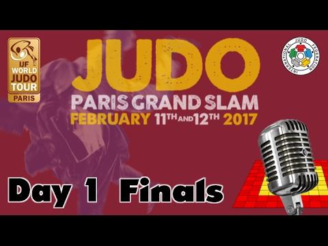Judo Grand-Slam Paris 2017: Day 1 - Final Block