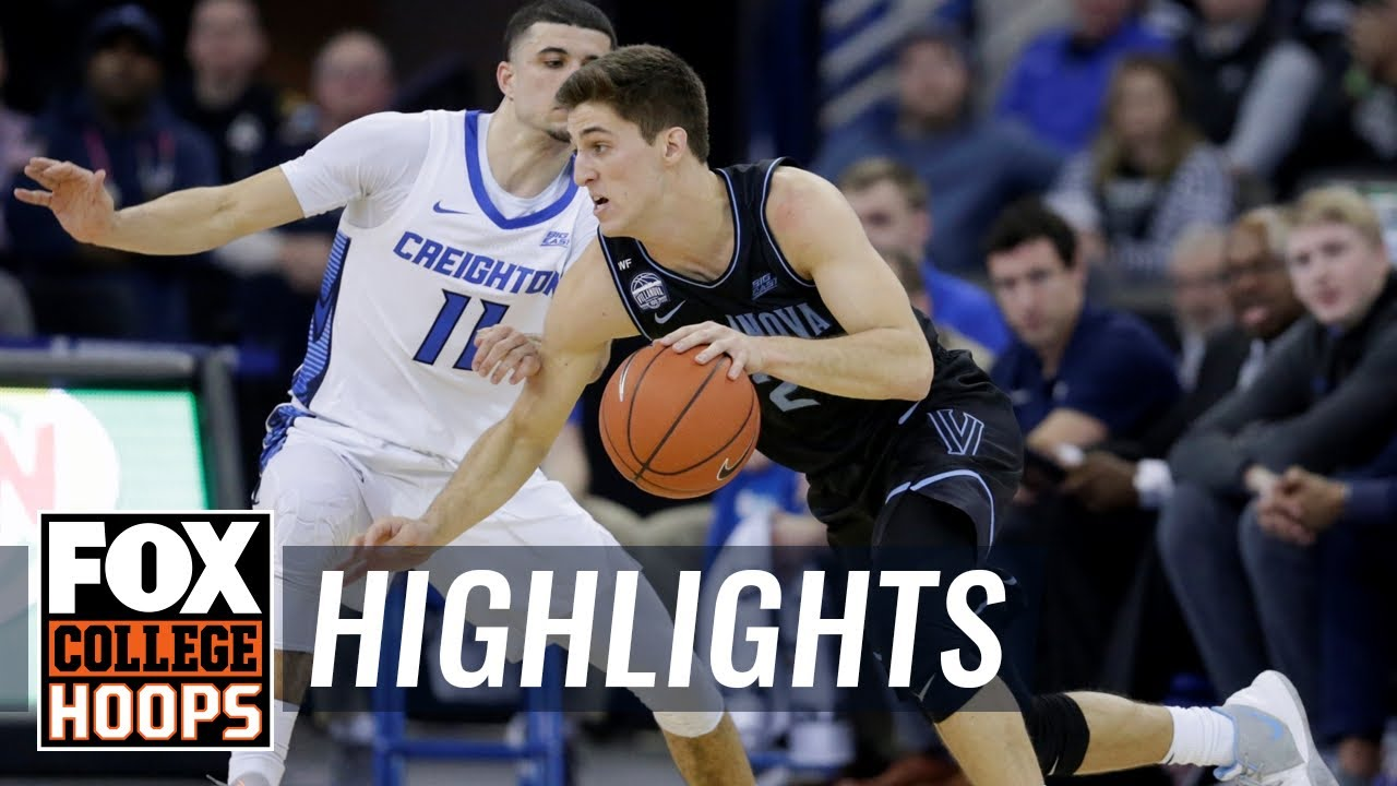 Collin Gillespie drops 24 as Villanova holds off Creighton, 64-59 | FOX COLLEGE HOOPS HIGHLIGHTS