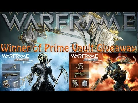 Warframe next prime vault 2018