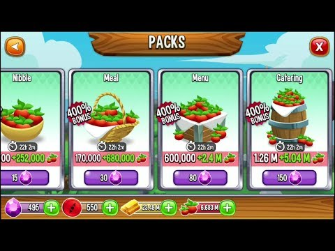 Purchased 10 Millions Food With 300 Gems Dragon City Mobile Game App