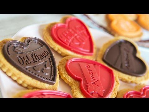 Galletas estilo Petit écolier - Especial San Valentín | Quiero Cupcakes!