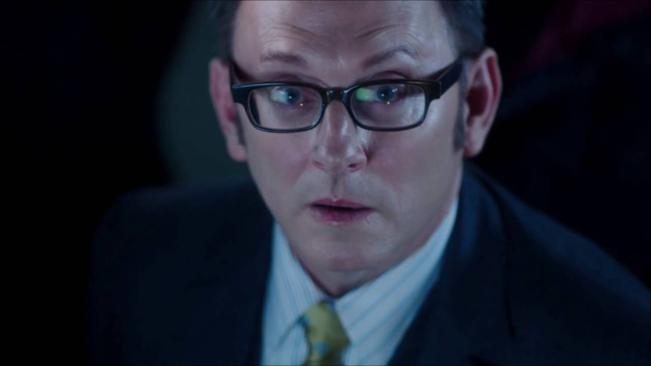Person of Interest - Samaritan talks to Finch in Times Square (05x13)