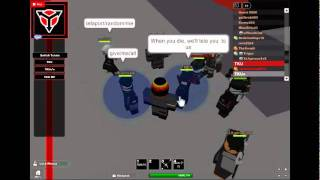 Roblox warmystro2 TKU HQ Vaktovians using admin....