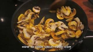 Chicken & Mushroom Cream Pasta Recipe - Smoked Paprika