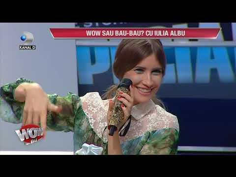 WOWBIZ (16.02.2017) - Iulia Albu taie in carne vie! Elena Gheorghe a primit BAU! Cine a luat WOW