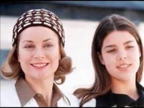 Grace Kelly and Caroline Of Monaco