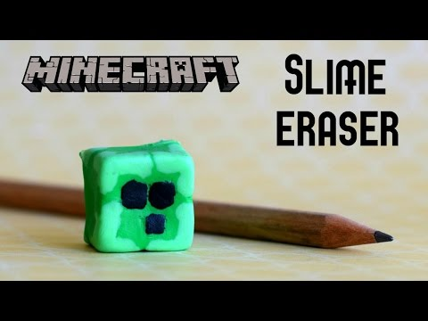 Diy Squishy Eraser : [Full-Download] How To Draw A Minecraft Slime