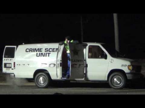 VIEWER DISCRETION: Accident Investigation Following Head-on Crash Northwest Highway, Des Plaines
