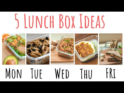 5 Tiffin Box Ideas For Work I Indian Lunch Box L Malayalam