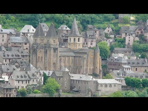 CONQUES, ONE OF THE MOST BEAUTIFUL VILLAGES OF FRANCE