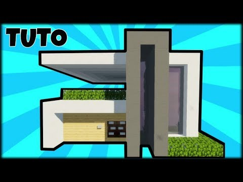 Tuto Grande Maison Moderne Facile A Faire Minecraft Youtube