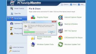 Let's have a look at PC TuneUp Maestro