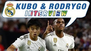 Kubo and Rodrygo discuss their Real Madrid debuts!