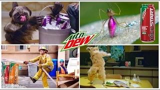 The Best 7 Hilarious Mountain Dew Kickstart Energizing Commercials [Mr Ansten]