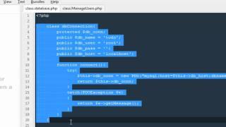 Advanced Php Programming Part 1