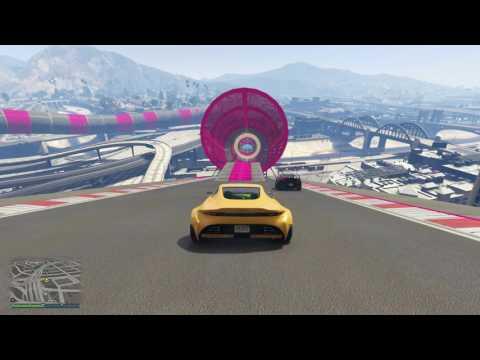 قراند 5 : سباق السيارات | grand race
