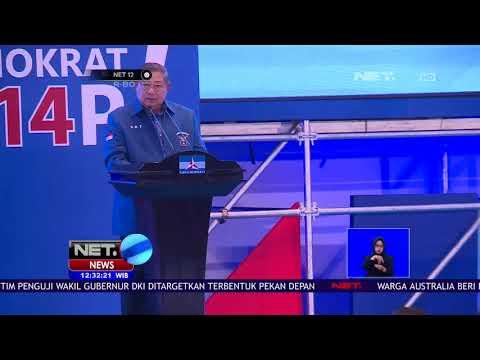 Partai Demokrat Adakan Pembekalan Untuk Para Caleg Untuk Menghadapi Pemilu 2019   NET12 Mp3