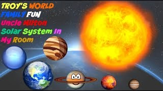 TROY'S WORLD FAMILY FUN Uncle Milton Solar System In My Room