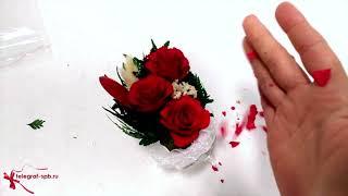 Живые цветы краш-тест