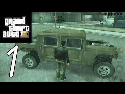 GTA 3 (Grand Theft Auto) - Gameplay Walkthrough Part 1 (iOS, Android)