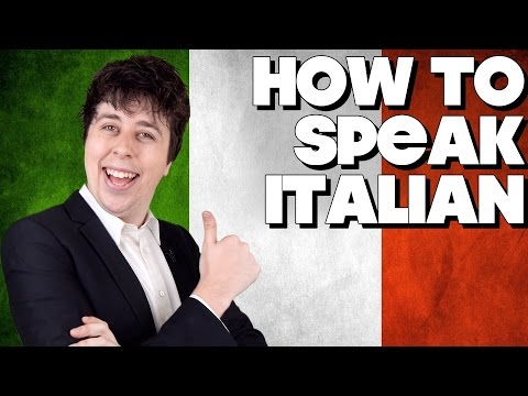 How To Speak Italian Without Knowing How