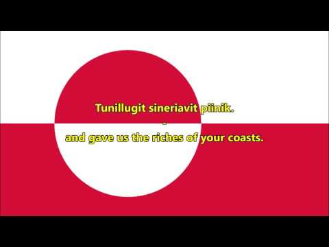 National anthem of Greenland (Greenlandic/English)