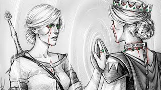 Цири: Спасительница или Убийца миллионов? Авалакх всех обманул в Ведьмак 3?