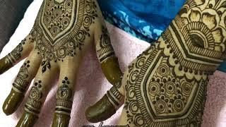 New mehndi design for finger | Beautiful mehndi design for hand