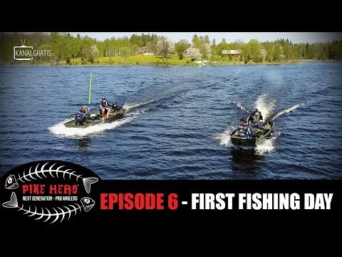 PIKE HERO 2017 - Episode 6 - First Fishing Day (with English, French and German subtitles)
