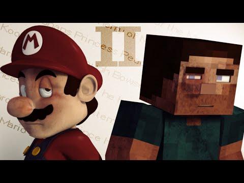 Steve and Mario 2 - Follow The Music (Basically a Minecraft Animation)