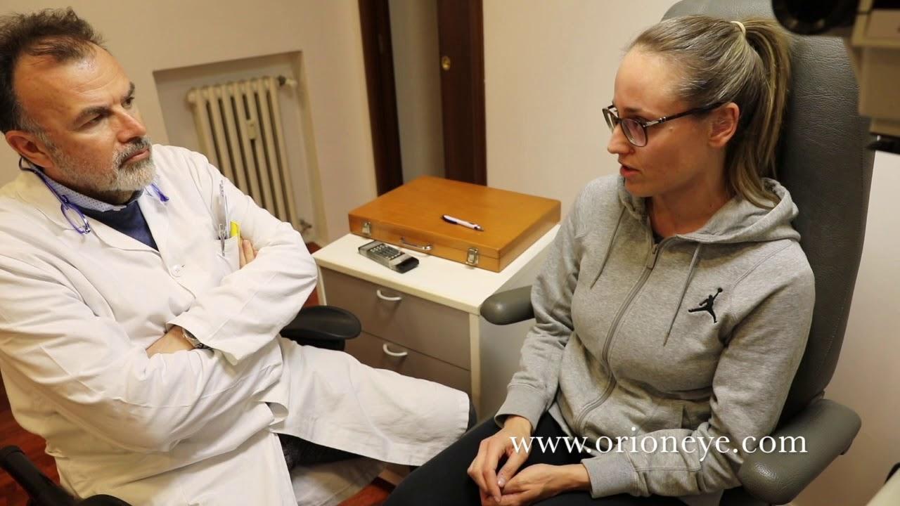 Testimonianza luce pulsata - Dr. Carlo Orione - YouTube