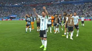 NIGERIA vs ARGENTINA 1-2 2018 WORLD CUP FULL GAME REACTION!!!