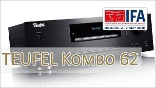 IFA 2016: Teufel Kombo 62 - Stereo Full Size CD Reciever