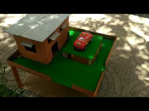 Automatic car parking system ,mechanical engineering project