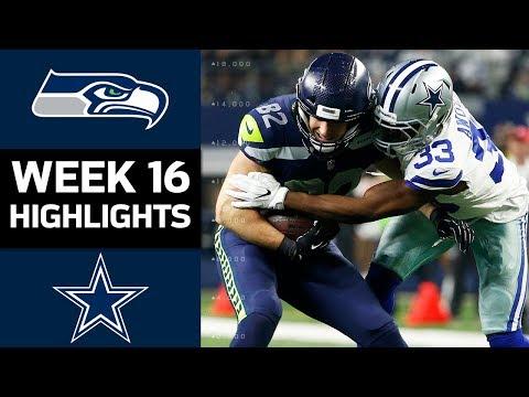 Seahawks vs. Cowboys   NFL Week 16 Game Highlights