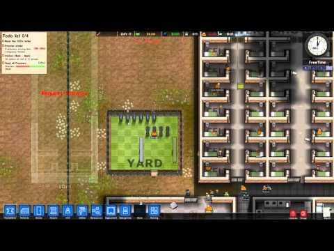 Prison Architect Part 8 Alpha 11 [Season 4] Let's Play NEW ALPHA Part 5 HD