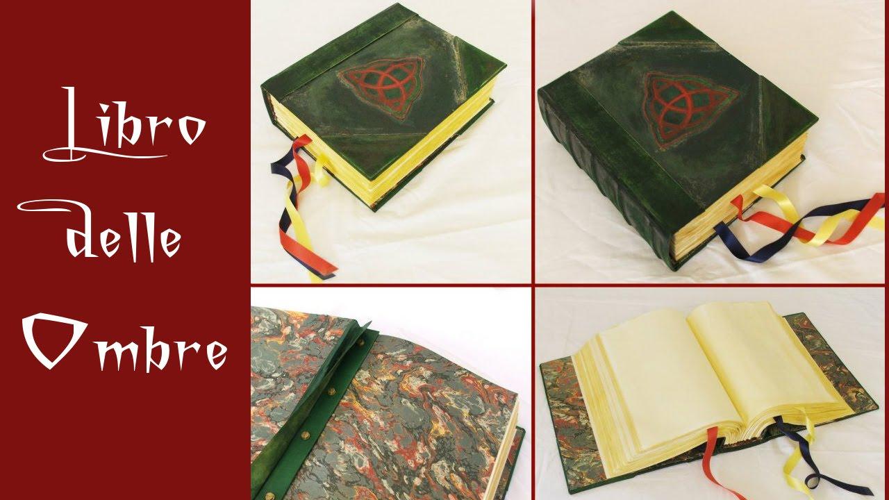 """Book of Shadows/Libro delle Ombre """"Streghe"""" (modello GOLD"""