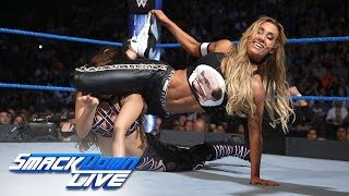 Carmella vs. Aliyah: SmackDown LIVE, Jan. 3, 2017