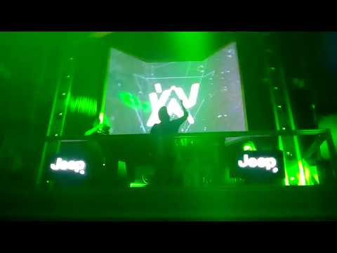 Alan Walker alone live performance in New Delhi