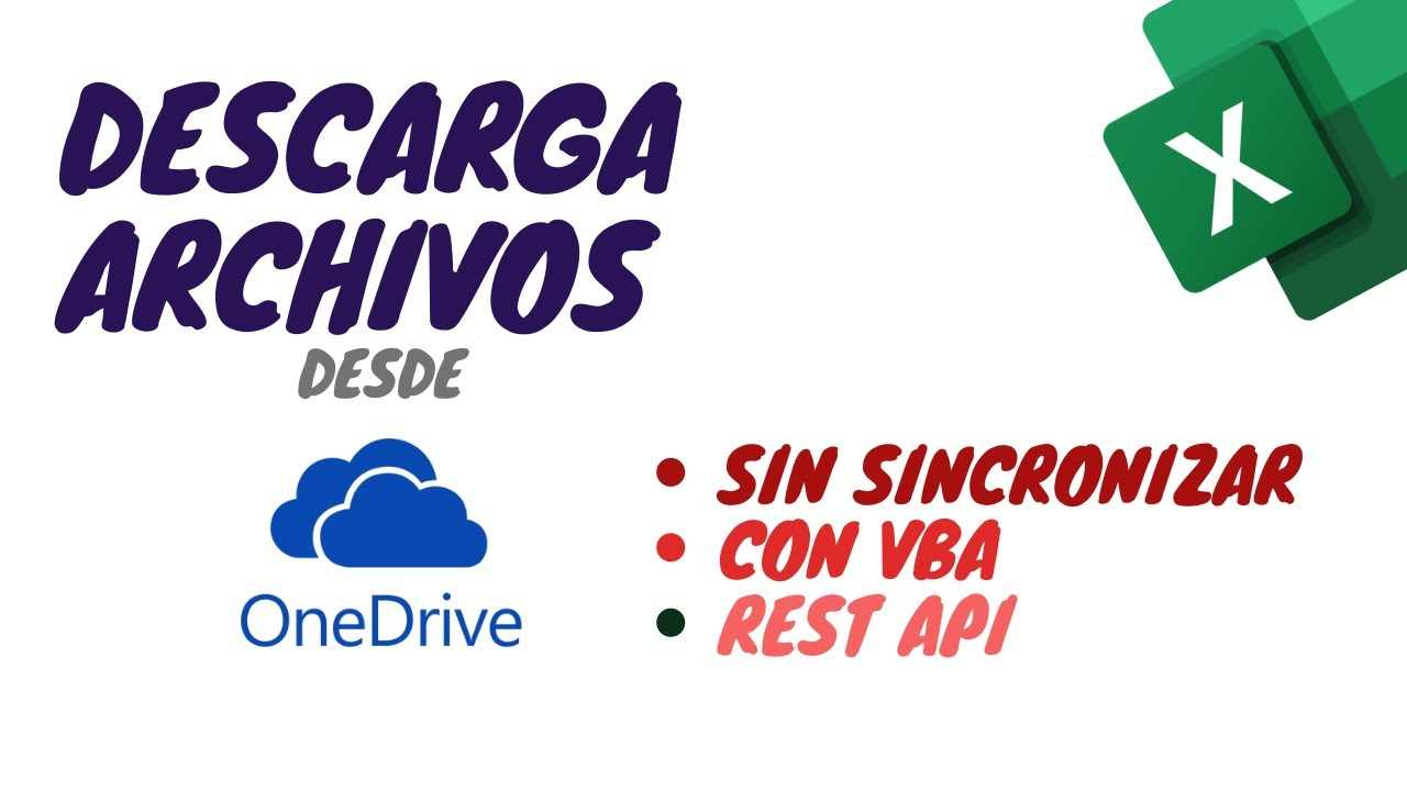 Descargando Archivos de OneDrive con REST API y VBA